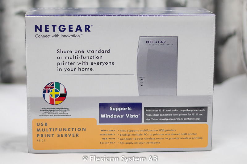 Netgear USB Print Server